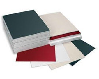 10 flat 8x10 assorted colors for artwork etc