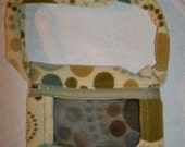Green Dot Fleece Sugar Glider and Small Rodent Carrier - Free Shipping