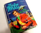 The Invaders - Alien Missile Threat - 1967 Big Little Book -  from TV show