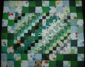 Patchwork Quilt for Doll 20 X 24 inches