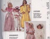 Child Costume Pattern - Size 3 - 4