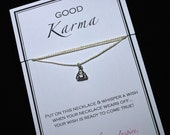 Good Karma Buddha Wish Necklace - Buy 3 Items, Get 1 Free
