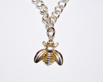 Bumble Bee Charm Bracelet