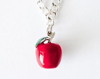 Apple Charm Bracelet