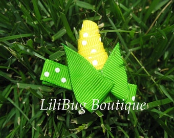 LiliBug Corn Festival Hair Clippie