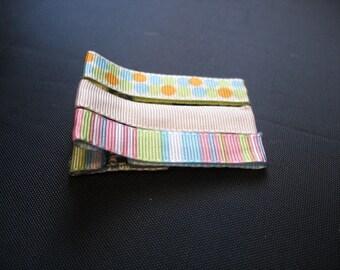 LiliBug Hair Clippie Set of 3 (Pastels)