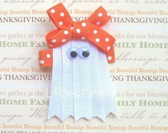 LiliBug Friendly Ghost Hair Clip