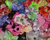 Dog Grooming Bows Assortment -50 round bows 25 pairs