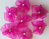 Dog bows, puppy bows grooming bows dog grooming bows lightweight fairy rounds - 8 bows