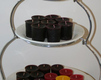 12 Pack 2 oz. Soy Votive Candles Choose Your Scent