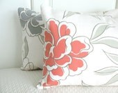 LAST CHANCE - STORE CLOSING SALE Elemental Floral Pillow Covers - (2) 12 x 16