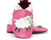 Bugaloo Leather Baby Shoes Fluff  0-6 - 12-18 months