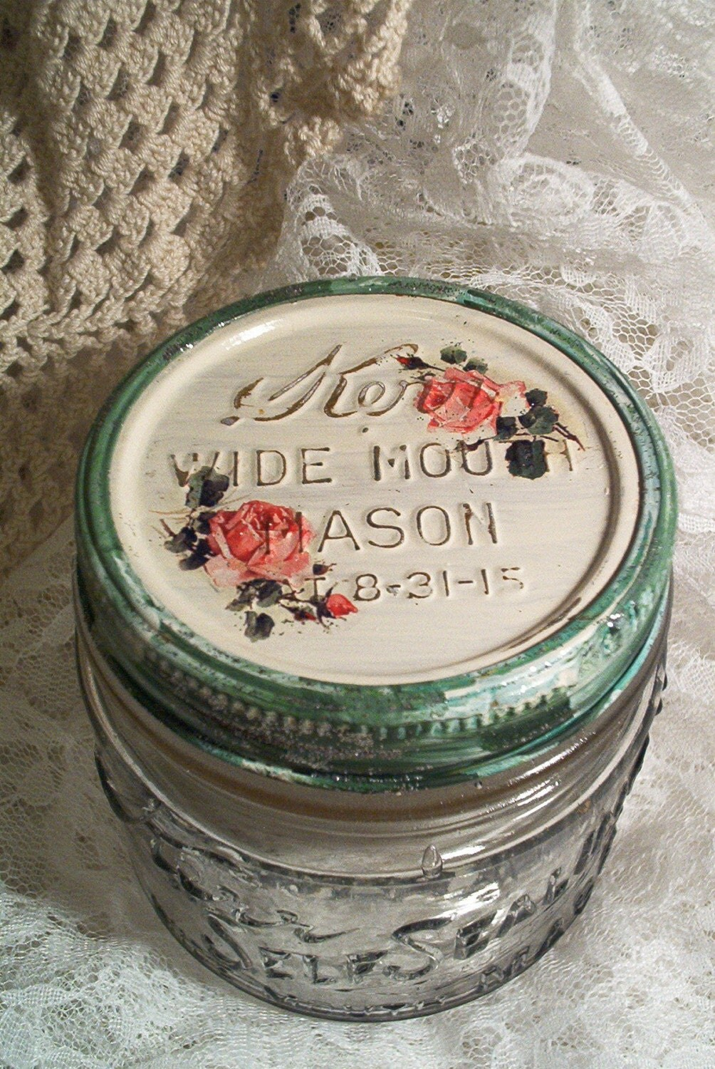 Pictures of Antique Mason Jars