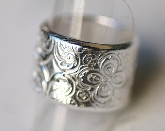 Ring - Silver - Andalusian - sizes 9 - 10.5  -  Made to Order