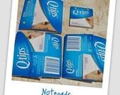 Q-tip Notepads