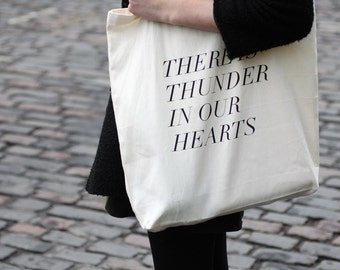 thunder in our hearts tote