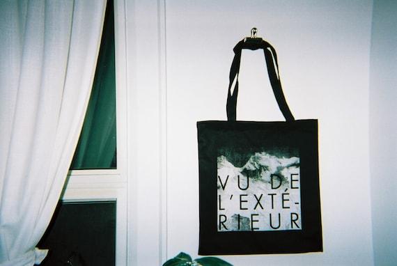 Vu de l 39 ext rieur tote by fieldguided on etsy for Gainsbourg vu de l exterieur