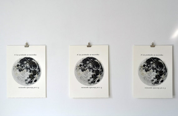 reserved for m.: moon print