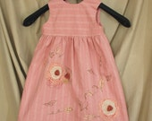 Pretty In Pink - Size 4 embellished dress