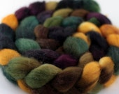 Apothecary - Handpainted BFL wool top/roving - 4 oz