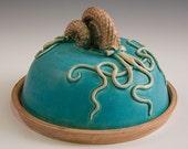 Mother and Child Ammonite Cheese Dish