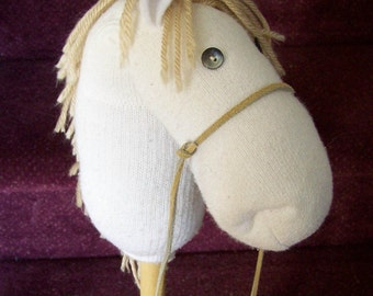 Hobby-Horse Unicorn PATTERN Tutorial How-to Make your own One Stick Pony PDF file