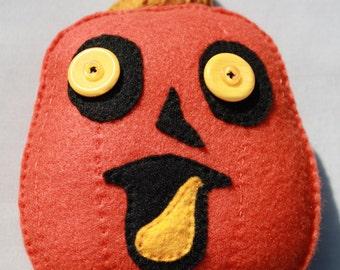 Pumpkin Plushie - Happy Bob
