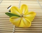 Yellow Daisy Kanzashi Single