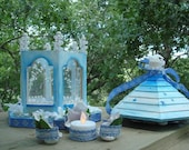 RESERVED- DO NOT BUY- CUSTOM ORDER FOR JENISIS- Four Fairy Houses