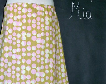 DIY KIT - WOMEN - Aline Skirt - Amy Butler - Pick the size - Junior, Adult and Plus size - by Boutique Mia and More