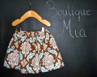 SAMPLE - Children Skirt - Will fit Size 2T up to 4T - by Boutique Mia and More - Ready To Ship