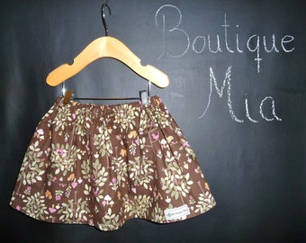 SAMPLE - Folklore Children Skirt - Will fit Size 12-24 month and 2T / 3T - by Boutique Mia and More - Ready To Ship