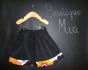 SAMPLE - Children Skirt - Will fit Size 3T up to 6 Yr - by Boutique Mia and More - Ready To Ship
