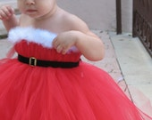 SALE. Santa Baby TuTu Dress. As seen on the Real Housewives of New Jersey.