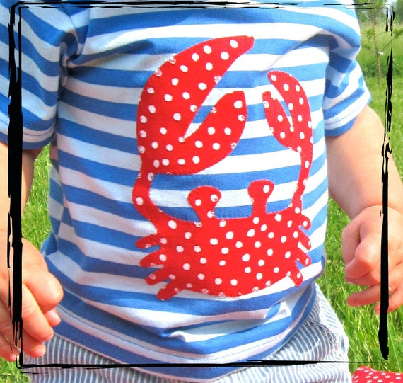 Summer Striped Baby Dots Crab - LIMITED EDITION