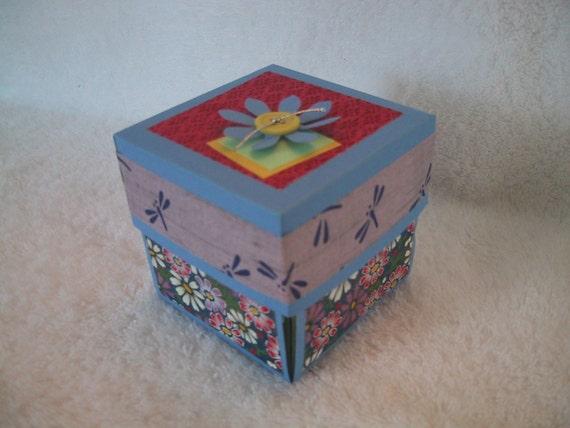 Asian Washi Paper Explosion Box