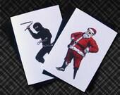 Pirate vs Ninja - Box of 12 Cards