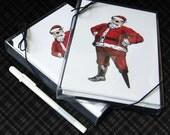 Yo Ho Ho Pirate Santa - 2 Boxes of 12 Cards plus Free Pen