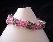 Pretty in Pink Swarovski Crystal Bracelet