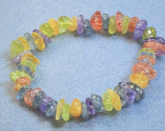 Multicolored Crystal Bracelet (687)