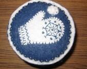 Snowball Fight Pincushion