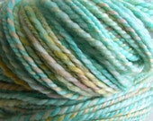 Sherbert, handspun and handyed superwash yarn, worsted weight, 200 yds, Moving Sale