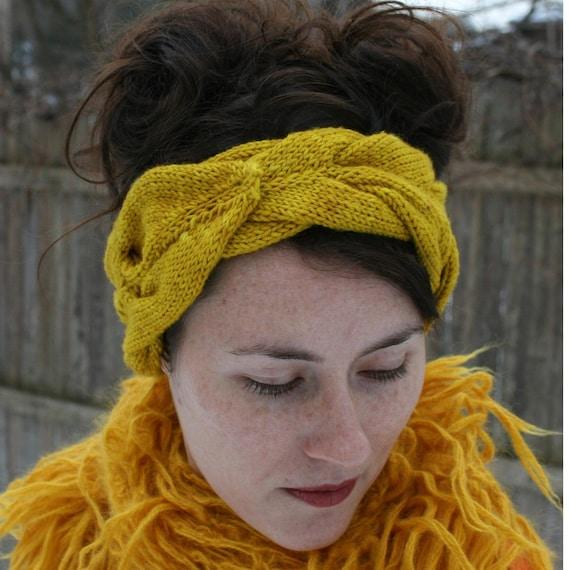 Laurel Headband PDF knitting pattern