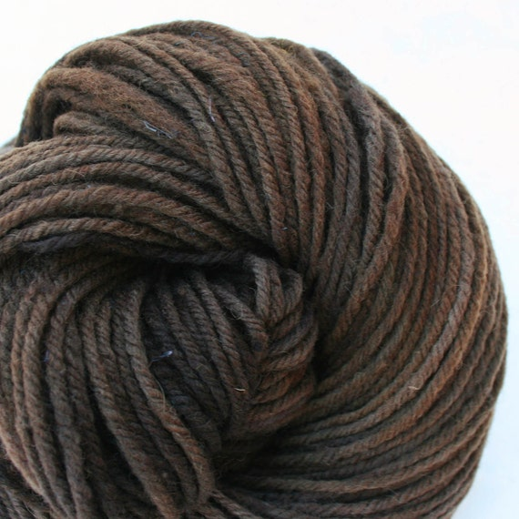 Hand dyed Aran weight NYS Wool 213yds 4oz Sandstone