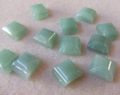 Double Drilled Aventurine Beads