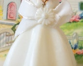 Vintage / Wedding Cake Topper / Bride / Retro-Kitsch