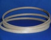 Vintage / Basketry Supplies / Round Hoop / One Dozen