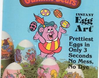Instant Egg Art (R) / Twelve Egg Wrappers / Disney's Gummi Bears