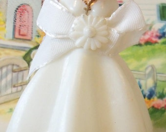 Vintage / Wedding Cake Topper / Bride / Retro-Kitsch