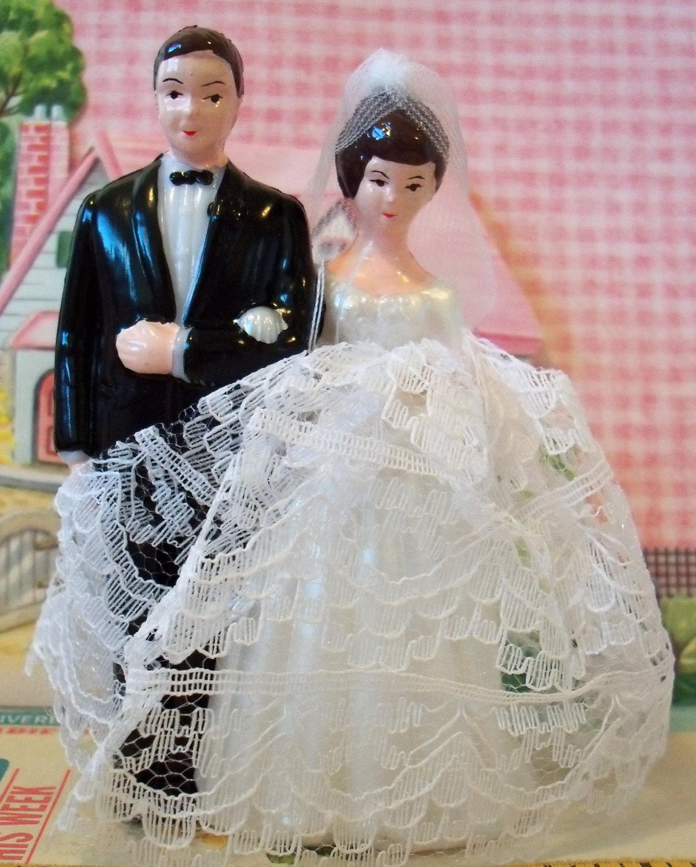 Wedding Cake Toppers Vintage: Love Is Sweet / Sale / Vintage / Wedding Cake Topper / Bride